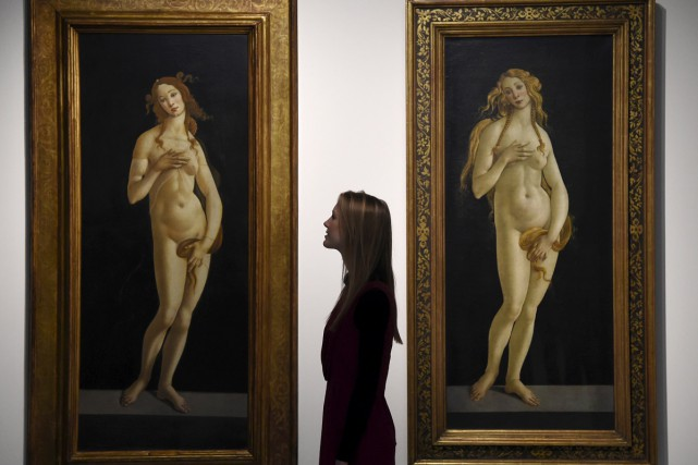 La naissance de Vénus de Sandro Botticelli... (PHOTO REUTERS)