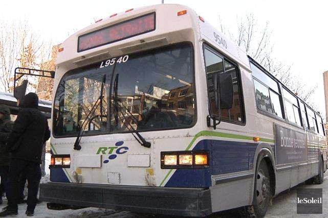 Le RTC avait acheté ses premiers autobus Classic... (Le Soleil, Nicolas Perron-Drolet)