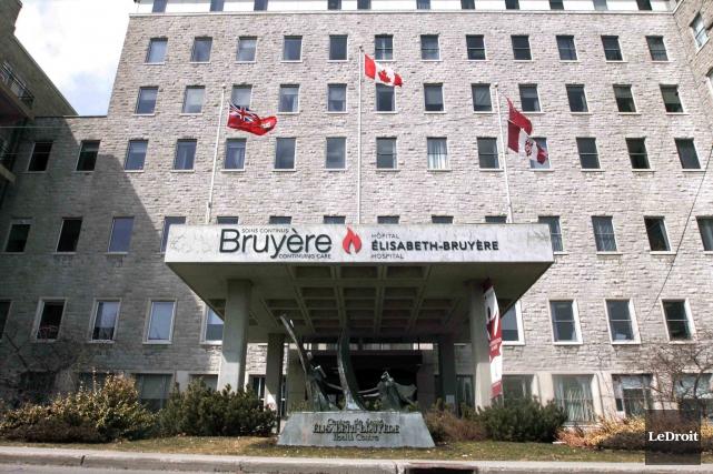 Le Centre de santé Élizabeth-Bruyère a fait savoir... (Etienne Ranger, Archives LeDroit)