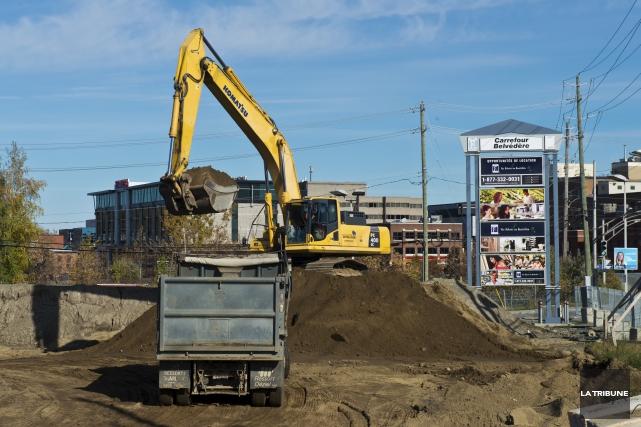 En matière de construction, le ralentissement sur le... (Archives, La Tribune)