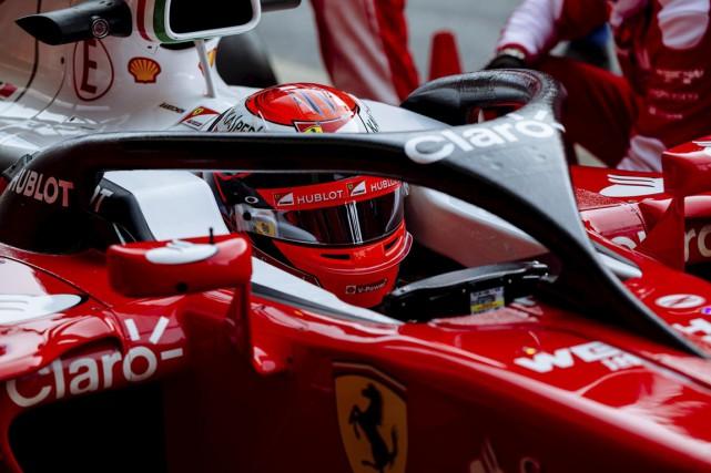 Une nouvelle pièce visant à protéger la tête... (Scuderia Ferrari)