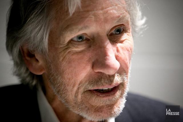 Roger Waters était de passage dans la métropole,... (La Presse, François Roy)