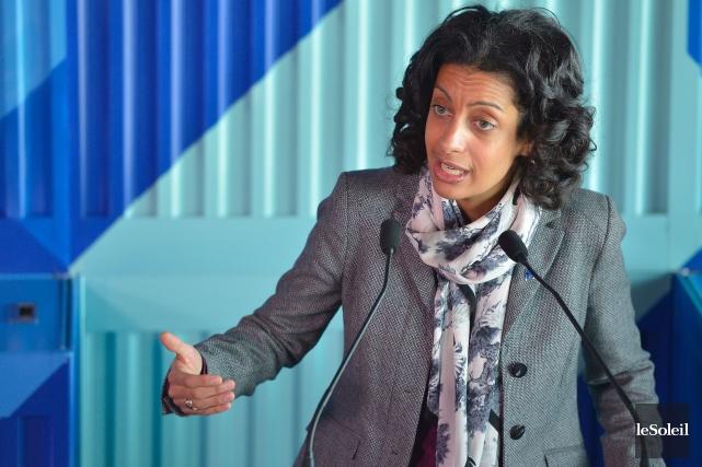 Dominique Anglade a pris les commandes du ministère... (Le Soleil, Yan Doublet)