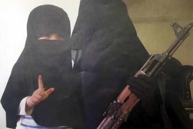 La femme du suspect est aujourd'hui en Syrie,... (Courtoisie)