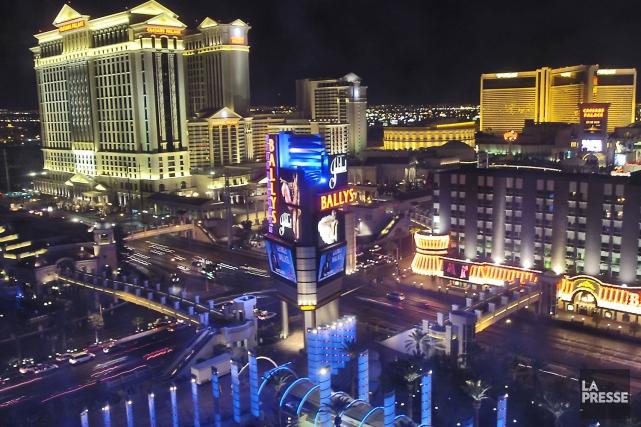 Las Vegas... (Archives La Presse)