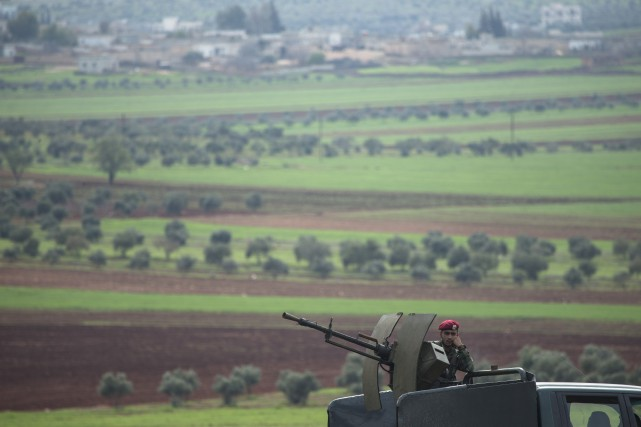 La guerre civile syrienne qui, depuis ses débuts... (Pavel Golovkin, AP)