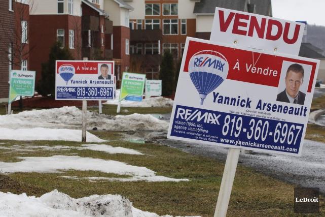 En tout, 343 propriétés ont été vendues en... (Patrick Woodbury, Archives LeDroit)