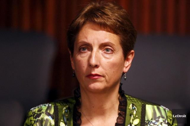 La députée néo-démocrate France Gélinas... (Etienne Ranger, Archives LeDroit)