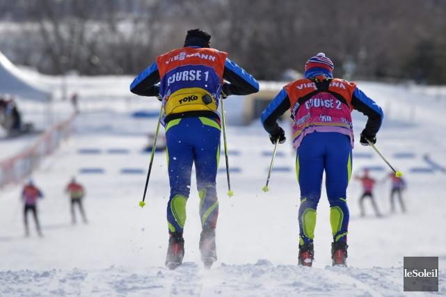 Les participants au Tour de ski du Canada... (Le Soleil, Yan Doublet)