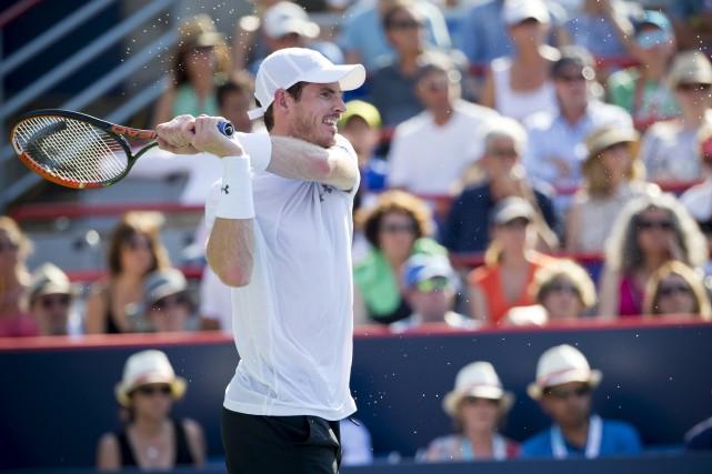 Le Britannique Andy Murray tentera de rééditer son... (Associated Press)