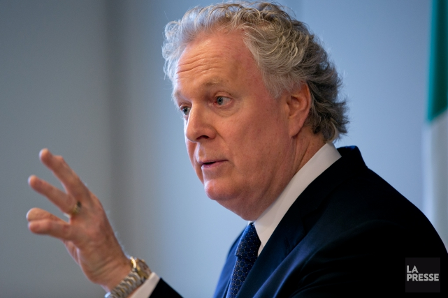 Jean Charest, ex-premier ministre du Québec... (PHOTO DAVID BOILY, ARCHIVES LA PRESSE)