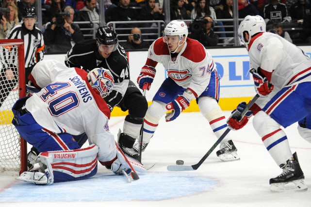 Le Canadien a été dominé 31-15 au chapitre... (Photo Gary A. Vasquez, USA TODAY Sports)