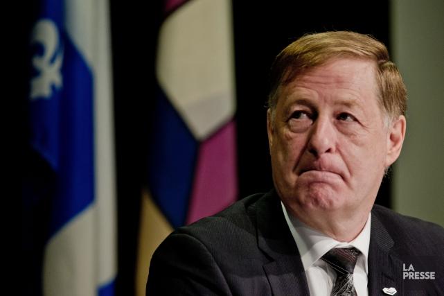 Le maire de Laval Marc Demers... (PHOTO MARCO CAMPANOZZI, ARCHIVES LA PRESSE)