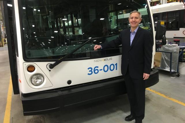Raymond Leduc, président de Nova Bus et de... (PHOTO fournie par Nova Bus)