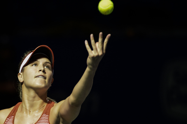 Eugenie Bouchard... (PHOTO MOHD RASFAN, ARCHIVES AFP)