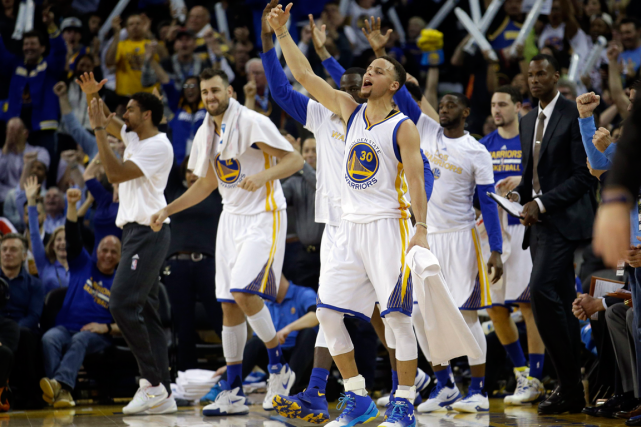 Les Warriors de Golden State n'ont pas perdu... (Photo Marcio Jose Sanchez, AP)