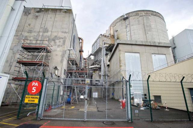 La centrale nucléaire de Fessenheim, mise en service... (PHOTO SÉBASTIEN BOZON, ARCHIVES AFP)