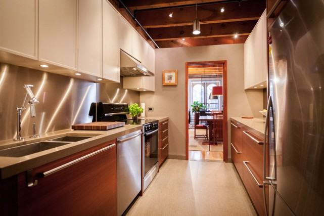 Construite il y a sept ans, la cuisine... (PHOTO FOURNIE PAR PIERRE GUILLAUME)