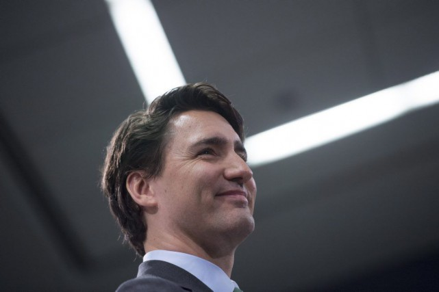 Justin Trudeau... (PHOTO JONATHAN HAYWARD, LA PRESSE CANADIENNE)