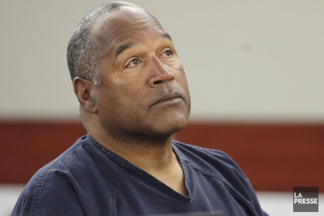 O. J. Simpson avait été acquitté mais purge... (Photo d'archives)