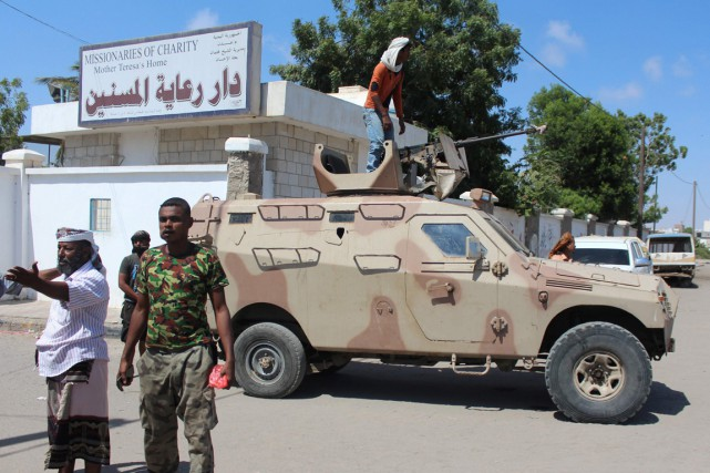 Les forces de sécurité yeménites sont intervenues après... (Photo SALEH AL-OBEIDI, AFP)