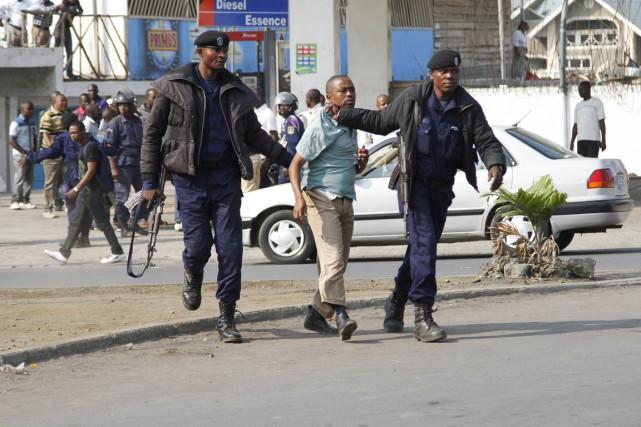 Le climat politique est très tendu en RDC... (Photo Kenny Katombe, Reuters)
