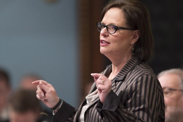 La ministre déléguée à la Réadaptation, à la... (Archives La Presse Canadienne, Jacques Boissinot)