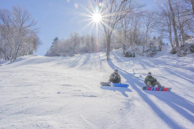 Après celle du groupe Ryan, Ski Sutton avait... (photo Jocelyne Trudeau, collaboration spéciale)