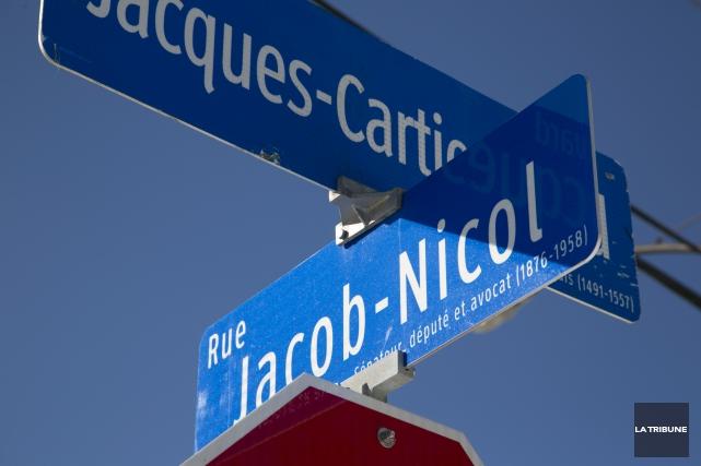 Pour neuf toponymes rappelant des noms d'hommes, on... (Archives, La Tribune)