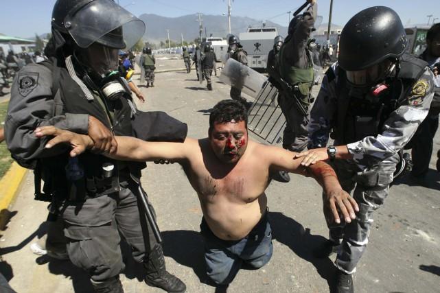 Entre juin 2006 et juillet 2007, les mobilisations... (Photo archives Reuters)