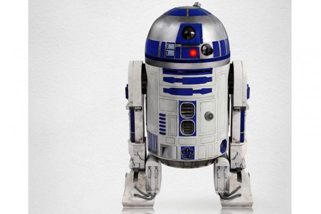 Le professeur Tony Dyson, qui fabriqua R2-D2, le célèbre petit robot de la saga... (Photo Lucas Films)
