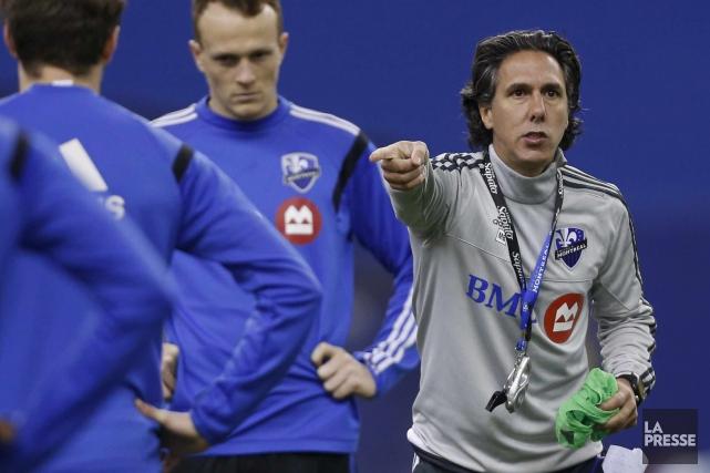 Le coach Mauro Biello a travaillé d'arrache-pied avec... (Archives La Presse)