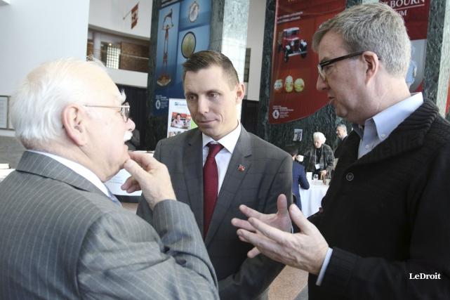 Le chef du Parti PC de l'Ontario, Patrick... (Patrick Woodbury, LeDroit)