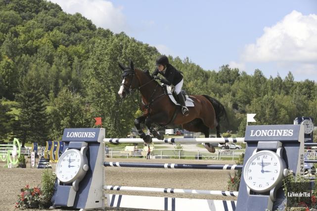 Dans deux ans, Bromont va accueillir les Jeux... (Julie Catudal, archives La Voix de l'Est)