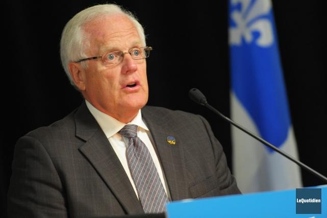 Le député libéral de Dubuc, Serge Simard... (Archives Le Quotidien)