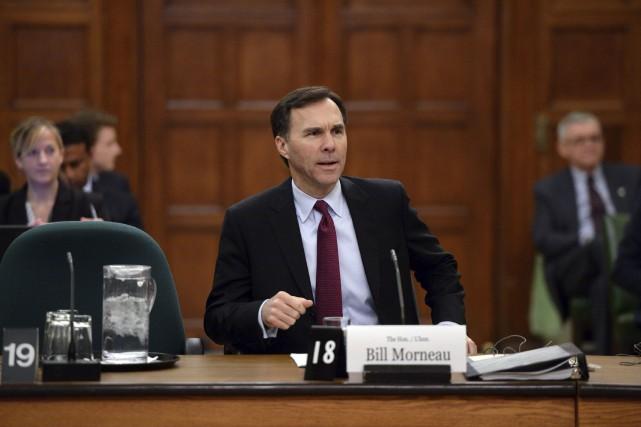 Le ministre des Finances, Bill Morneau... (La Presse Canadienne, Sean Kilpatrick)