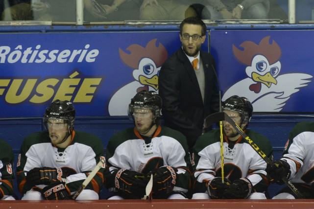 Les Patriotes de l'entraîneur Marc-Étienne Hubert auront l'occasion... (Sylvain Mayer)