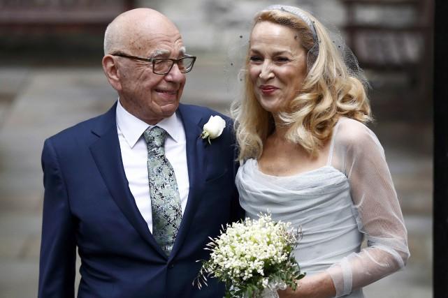 Il s'agit d'un quatrième mariage pour le milliardaire... (PHOTO PETER NICHOLLS, REUTERS)