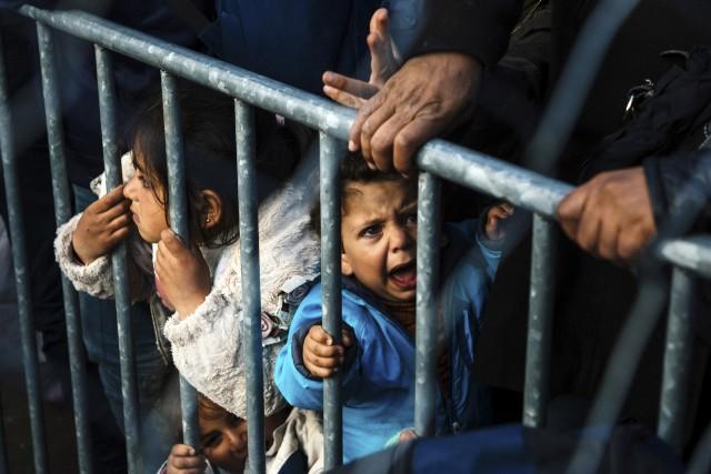 La Macédoine, voisine de la Grèce, refuse l'entrée... (AFP)