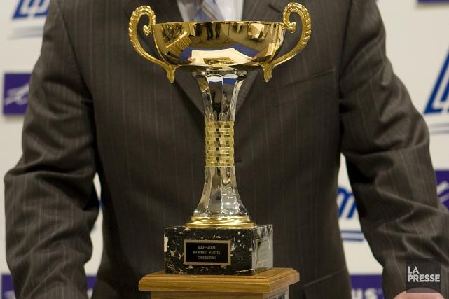 En 2004-2004, le Trophée Ron Lapointe avait été... (Archives La Presse)