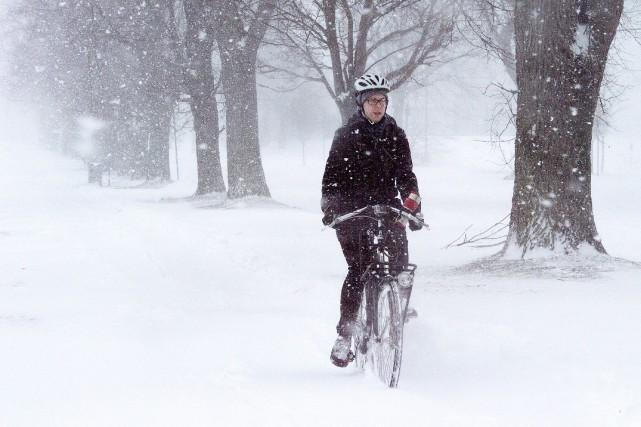 Plus de 30 centimètres de neige devraient être... (La Presse Canadienne)