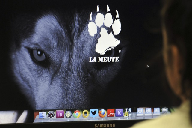 Le groupe La Meute, qui réunit des internautes opposés à l'arrivée des migrants... (Photo Le Progrès-Dimanche, Rocket Lavoie)