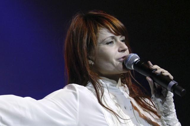 Axelle Red souhaitait revenir «à l'essentiel» de ses... (Archives AFP)
