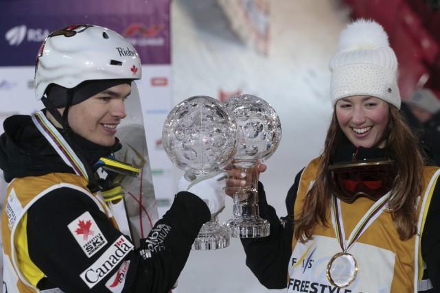Pour la première fois de l'histoire, deux Québécois,... (AP, Ivan Sekretarev)