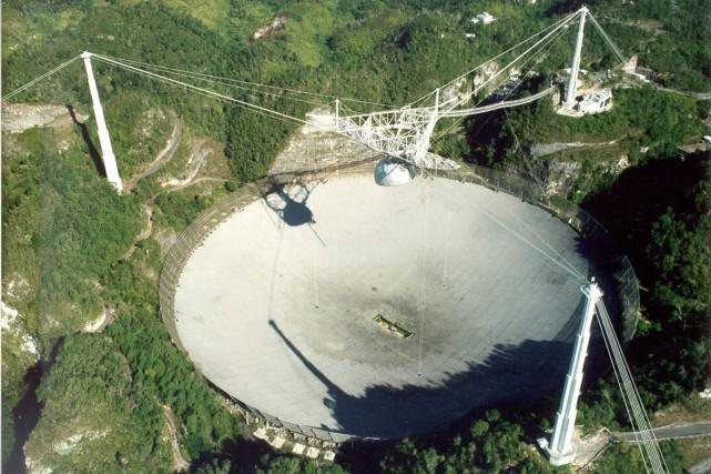 Pour étudier les sursauts radio rapides, Paul Scholz,... (PhotoSeth Shostak, archives Associated Press/SETI Institute)