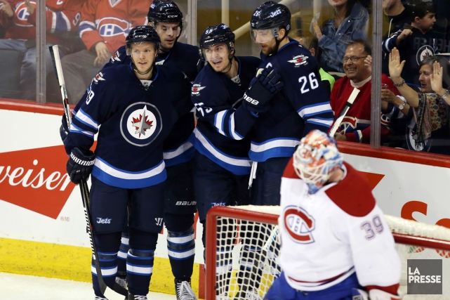Mark Scheifele a inscrit un tour du chapeau... (Photo USA Today Sports)