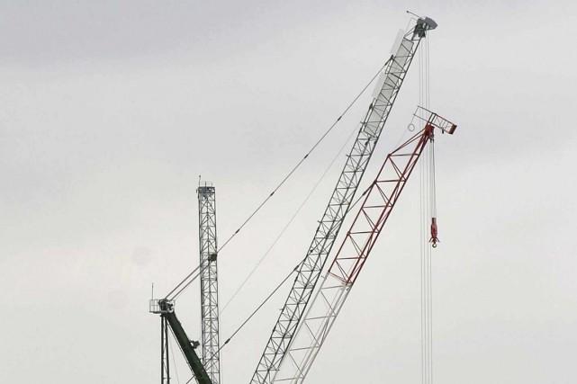 Le bruit strident pouvait être entendu facilement samedi... (Photo archives Reuters)