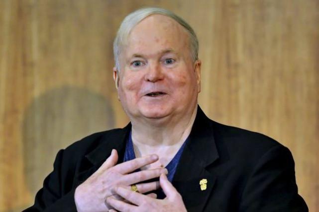 Pat Conroy en mai 2014. L'écrivainest mort moins... (Archives AP)