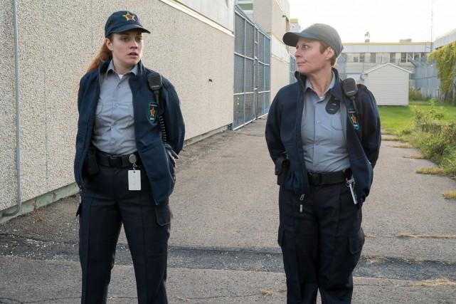 Madeleine, le rôle de Marie-Chantal Perron (droite) dans... (Fournie par ICI Radio-Canada télé)