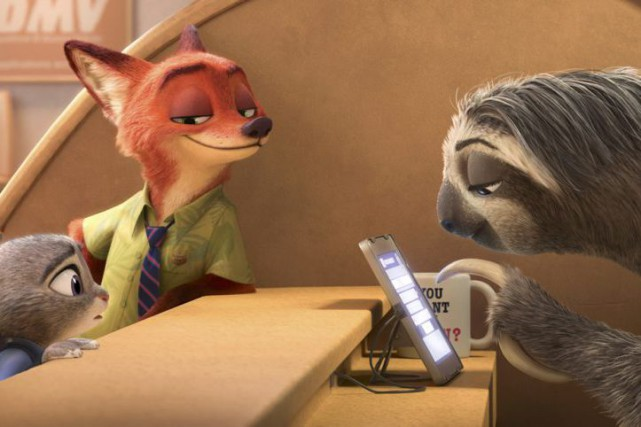 Zootopia... (PHOTO FOURNIE PAR DISNEY)
